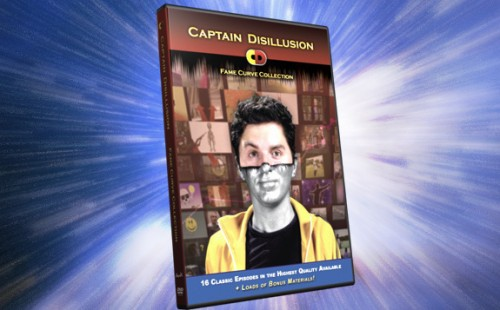 Captain Disillusion on DVD